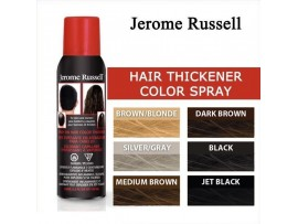 Jerome Russell Spray On Hair Color Thickener - Available in many colours