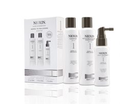 Nioxin 3 Part System Kits - System Kit 1 - Cleanser, Scalp Therapy & Scalp Treatment