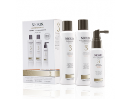Nioxin 3 Part System Kits - System Kit 3 - Cleanser, Scalp Therapy & Scalp Treatment