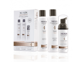 Nioxin 3 Part System Kits - System Kit 4 - Cleanser, Scalp Therapy & Scalp Treatment