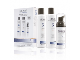 Nioxin 3 Part System Kits - System Kit 6 - Cleanser, Scalp Therapy & Scalp Treatment