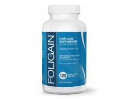 Foligain® Nutritional Supplement For Hair Loss or Thinning (120 Capsules) - Men & Women