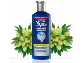 Naturvital Hair loss Shampoo - Anti Dandruff 300ml